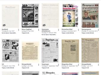Nasjonalbibliotekets avissamling